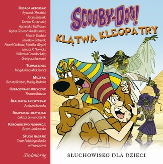Scooby-Doo! Klątwa Kleopatry - audiobook