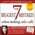 7 Biggest Mistakes When Making Sales Calls - audiobook