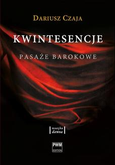 Kwintesencje. Pasaże barokowe - ebook/epub