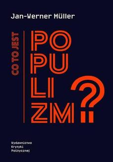Co to jest populizm? - ebook/epub