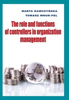 The role and functions of controllers in organization management - ebook/pdf