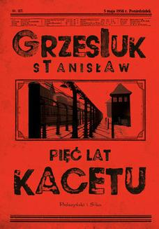 Pięć lat kacetu - ebook/epub