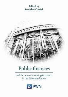 Public finances and the new economic governance in the European Union - ebook/epub