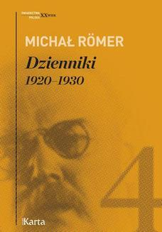 Dzienniki. 19201930. Tom 4 - ebook/epub
