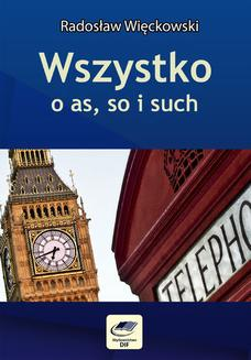 Wszystko o as, so i such - ebook/pdf