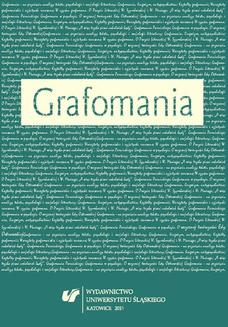 Grafomania - ebook/pdf