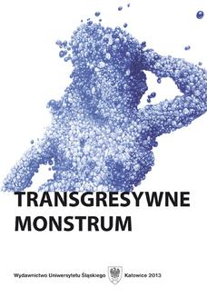 Transgresywne monstrum - ebook/pdf