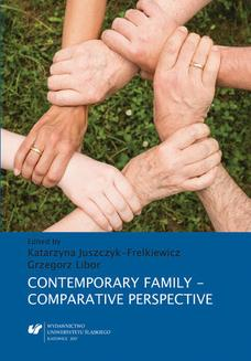 Contemporary Family - Comparative Perspective - ebook/pdf
