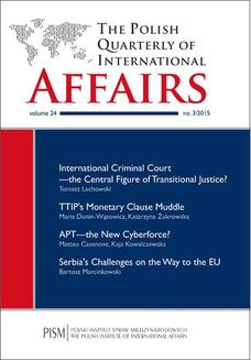 The Polish Quarterly of International Affairs nr 3/2015 - ebook/pdf