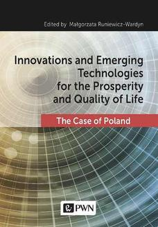 Innovations and Emerging Technologies for the Prosperity and Quality of Life - ebook/epub