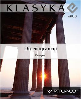 Do emigrancyi - ebook/epub