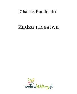 Żądza nicestwa - ebook/epub