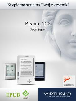 Pisma. T. 2 - ebook/epub