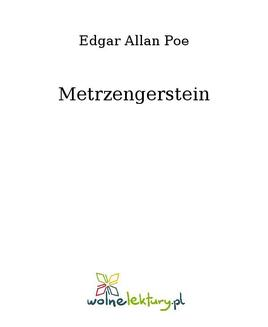 Metrzengerstein - ebook/epub