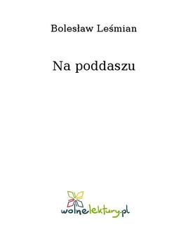 Na poddaszu - ebook/epub