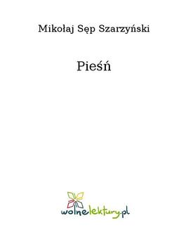 Pieśń - ebook/epub