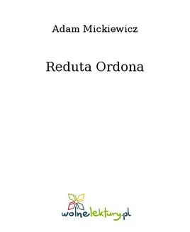 Reduta Ordona - ebook/epub
