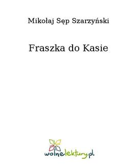 Fraszka do Kasie - ebook/epub