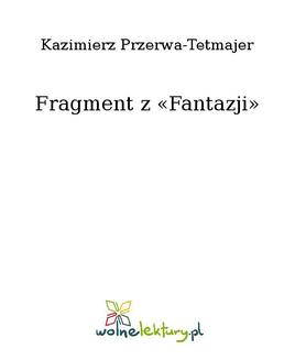 Fragment z «Fantazji» - ebook/epub