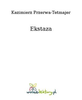 Ekstaza - ebook/epub