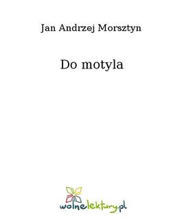 Do motyla - ebook/epub
