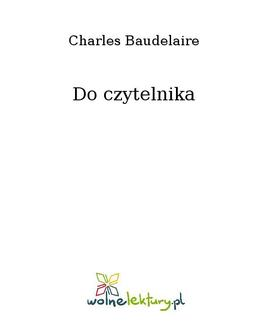 Do czytelnika - ebook/epub