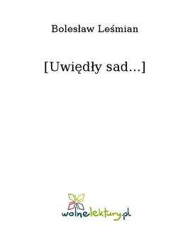 [Uwiędły sad...] - ebook/epub