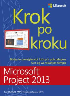 Microsoft Project 2013 Krok po kroku - ebook/pdf
