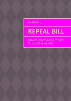 Repeal bill - ebook/epub