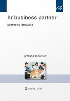 HR Business Partner. Koncepcja i praktyka - ebook/pdf