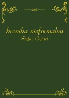 Kronika nieformalna - ebook/epub