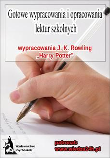 "Wypracowania - J. K. Rowling ""Harry Potter"" - ebook/epub"