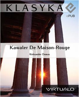 Kawaler De Maison-Rouge - ebook/epub