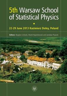 5th Warsaw School of Statistical Physics - ebook/pdf