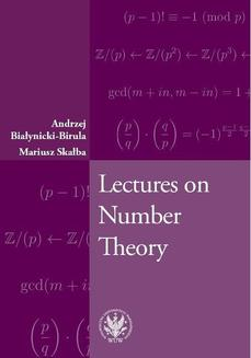 Lectures on Number Theory - ebook/pdf