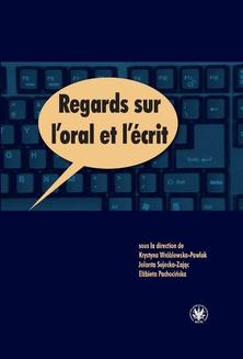 Regards sur l oral et l écrit - ebook/pdf