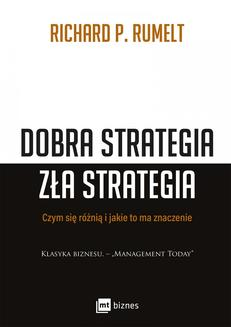 Dobra strategia zła strategia - ebook/epub