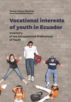 Vocational interests of youth in Ecuador. Inventory of the Occupational Preferences of Youth - ebook/pdf
