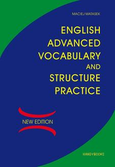 English Advanced Vocabulary and Structure Practice - ebook/pdf