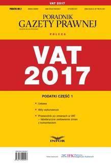 VAT 2017 - ebook/pdf