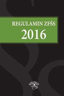 Regulamin ZFŚS 2016 - ebook/epub
