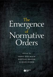 The Emergence of Normative Orders - ebook/epub