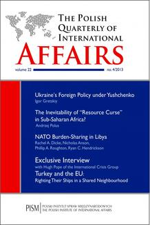 The Polish Quarterly of International Affairs 4/2013 - ebook/epub
