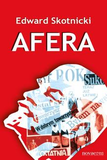 Afera - ebook/epub
