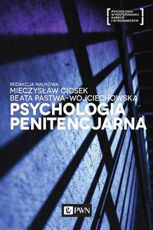 Psychologia penitencjarna - ebook/epub