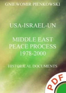 USA-Israel-UN.Middle East Peace Process: 1978-2000. Historical Documents  - ebook/pdf