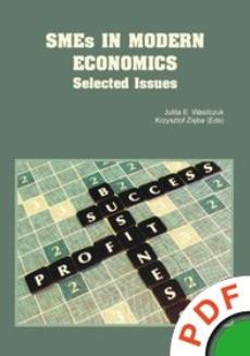 SMEs in Modern Economics. Selected Issues  - ebook/pdf