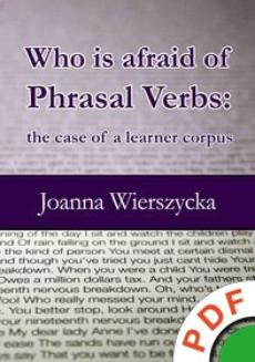 Who is afraid of Phrasal Verbs. The case of a learner corpus  - ebook/pdf