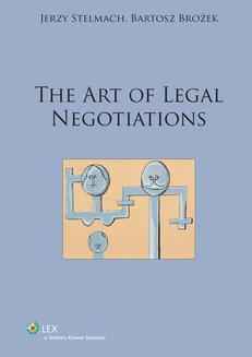 The art of legal negotiations - ebook/pdf