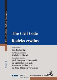 Kodeks cywilny. The Civil Code - ebook/pdf